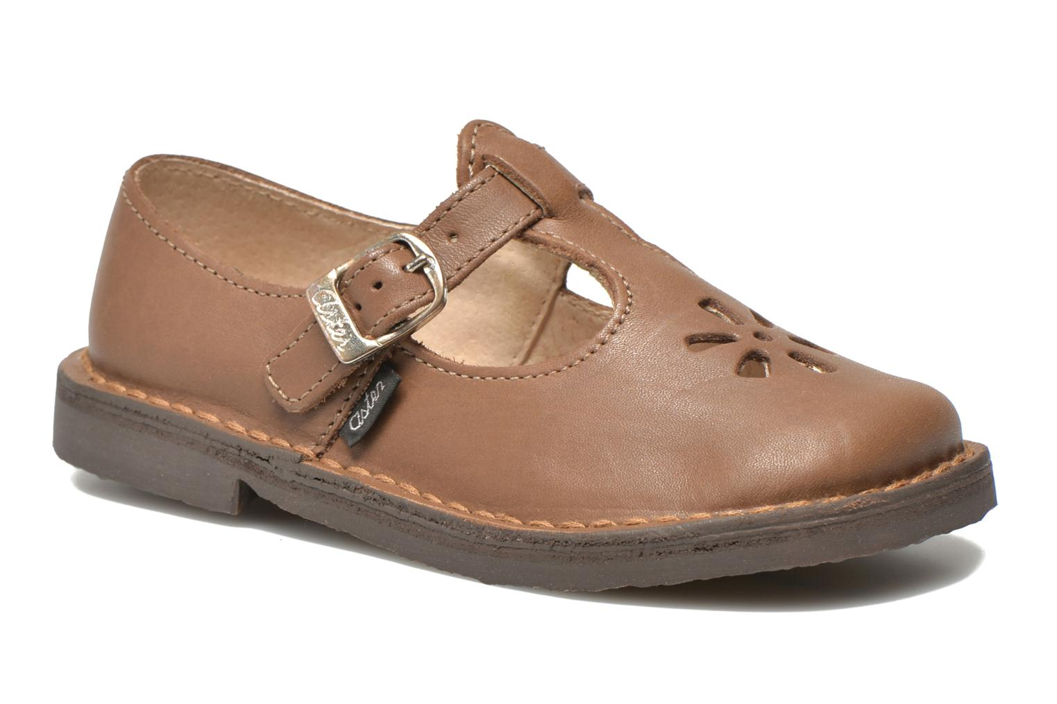 Ballerines Aster Dingo Marron vue détail/paire